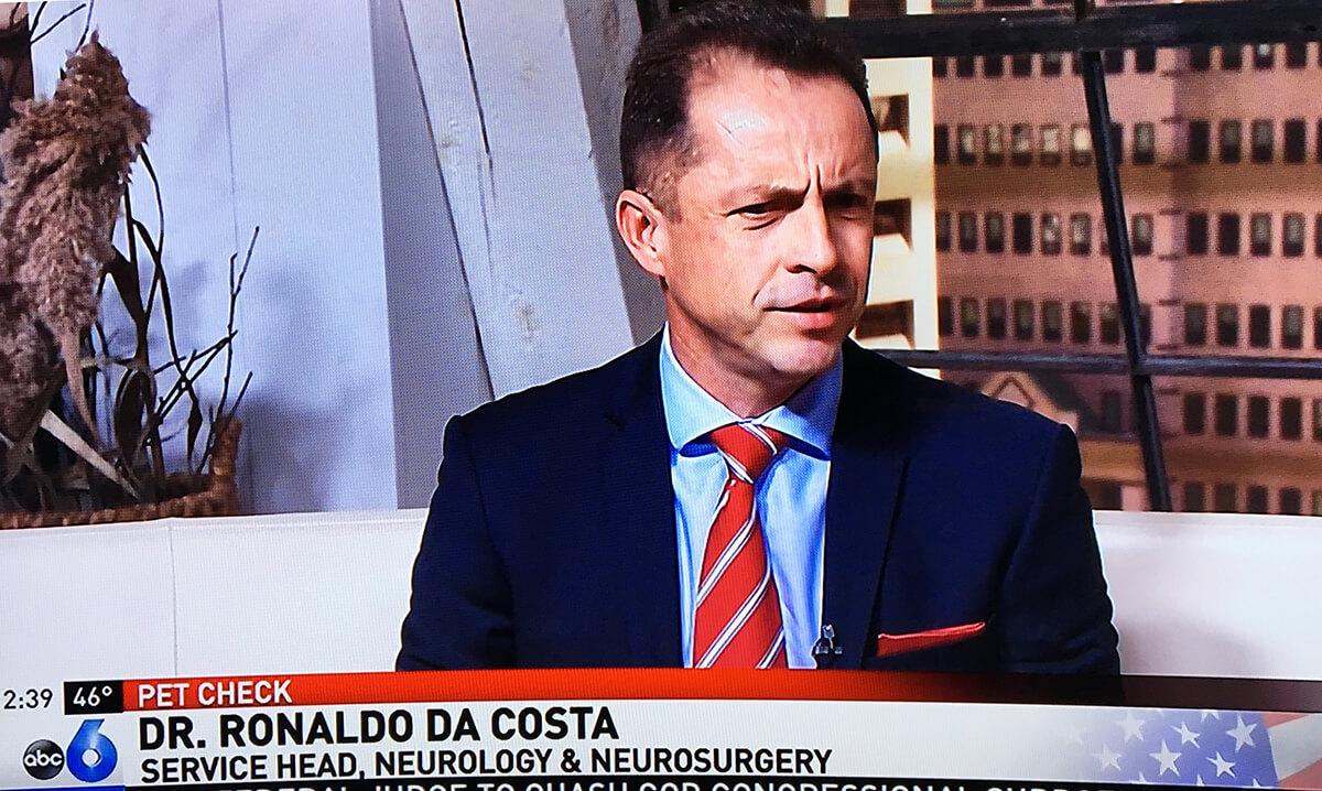Entrevista na TV Americana ABC
