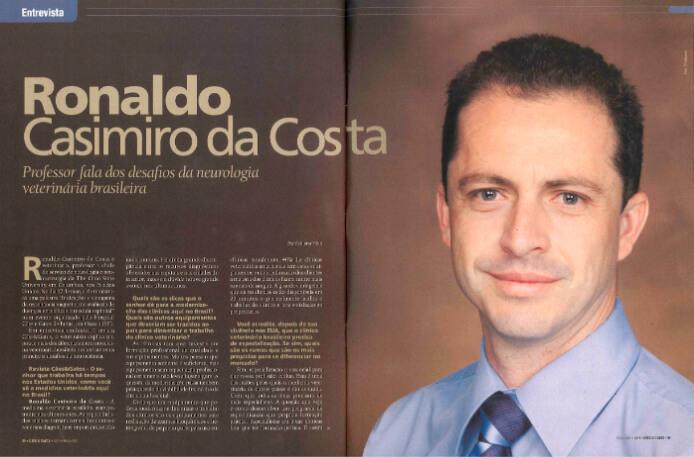 Professor Fala dos Novos Desafios da Neurologia Veterinária Brasileira